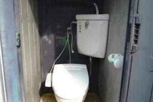 仮設トイレ 簡易トイレ 水洗 洋式 ウォシュレット