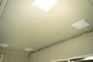 中古ユニットハウス LED証明